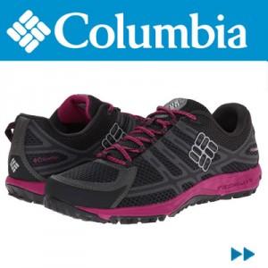 Adidasi dama Columbia Conspiracy III negru cu rosu