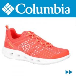 Adidasi femei Columbia Drainmaker III Rosii
