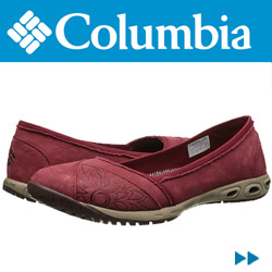 Balerini dama piele rezistenti Columbia Sunvent Ballet Leather