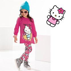 Imbracaminte lejera Hello Kitty pentru fetite