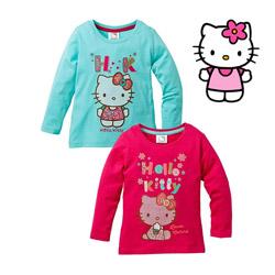 Bluze cu maneca lunga Hello Kitty fetite