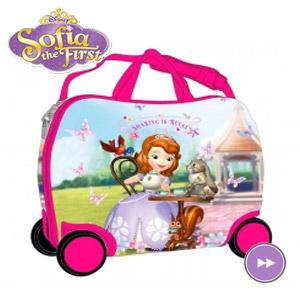 Geanta de gradinita ABS Disney Sofia cu roti