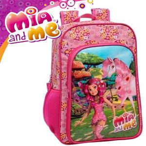 Ghiozdan scolar pentru fetite Mia and Me