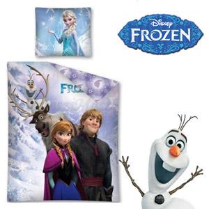 Lenjerie de pat Disney Frozen Family 140 x 200 cm