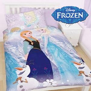 Lenjerie de pat Disney Frozen Sisters 140 x 200 cm