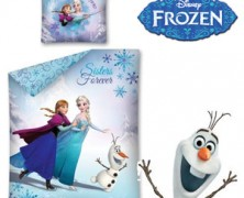 Lenjerii de pat pentru copii Disney Frozen