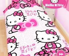 Lenjerii de pat pentru fetite Hello Kitty