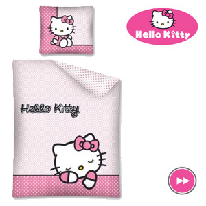Lenjerie de pat Hello Kitty Sanrio
