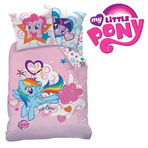 Lenjerie de pat din bumbac My Little Pony Rainbow Sky