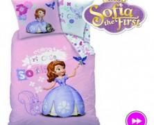 Sofia Intai Lenjerii de pat pentru fetite Sofia the First