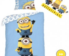 Lenjerii de pat pentru copii personaje animatie Minions