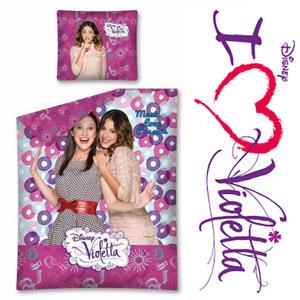 Lenjerie de pat fetite Disney Violetta Passion 160x200 cm