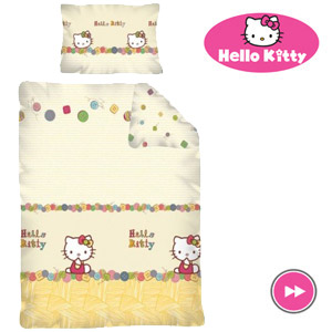 Lenjerie de patut Hello Kitty 100 x 135cm