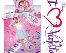 Lenjerii de pat pentru fetite Disney Violetta