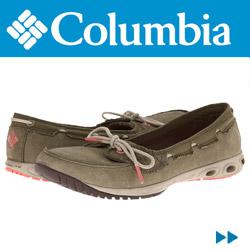 Mocasini piele Columbia Sunvent Boat de dama