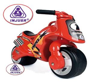 Motocicleta Injusa Neox fara pedale pentru copii mici de 2 si 3 ani