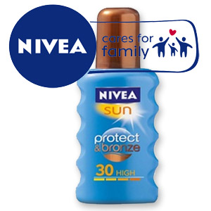 Nivea Spray Protect & Bronze SPF30 200ml