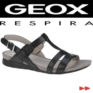 Sandale casual dama Geox Formosa negre