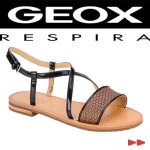 Sandale casual dama Geox Jolanda gri