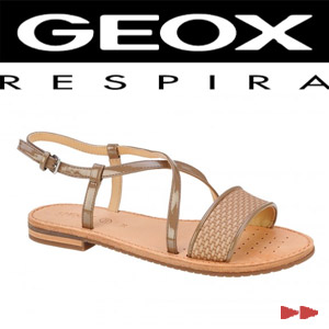 Sandale casual dama Geox Jolanda maro