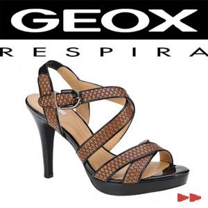 Sandale elegante dama Geox Ivana Sand negre