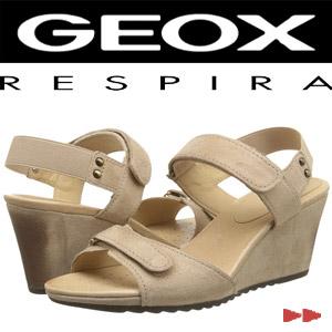 sandale cu platforma Geox D Alias Wedge