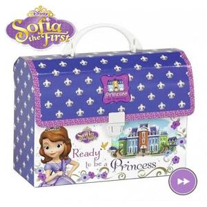 Servieta cu maner Disney Printesa Sofia Intai din carton