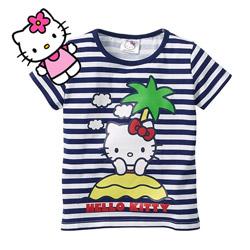 Tricou fetite 2-8 ani Hello Kitty