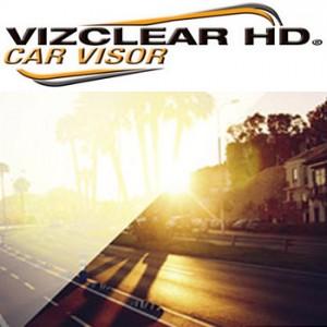 Parasolar auto Vizclear HD pentru soferi imbunatateste vederea pe soare sau noaptea