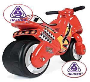 Motocicleta copii 2-3 ani Injusa Neox fara pedale