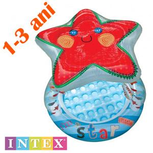 Piscina gonflabila INTEX Steluta de Mare copii 1-3 ani