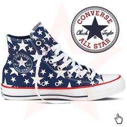 Bascheti cu stelute Converse Chuck Taylor All Star
