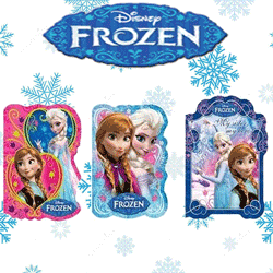 Block Notes forma Disney Frozen