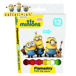 Carioci Minions set 12 culori. Coloreaza tot ceea ce doresti cu cariocile Minions.