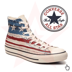 Converse Chuck Taylor All Star American Flag High
