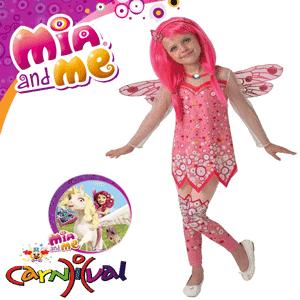 Costume ieftine de carnaval pentru fetite Mia and Me 3-4 5-6 7-8 ani Zane