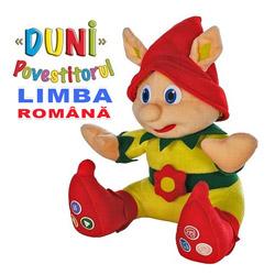 Duni Povestitorul in limba romana cu melodii si carte copii