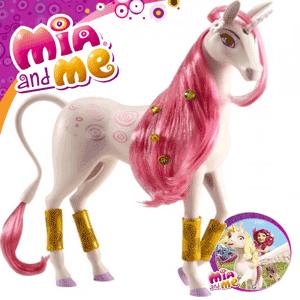 Figurina Jucarie Unicornul Lyria din desenele animate Mia and Me