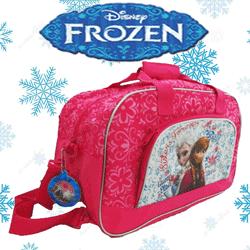 Geanta sport Disney Frozen culoare roz fetite