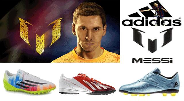Ghete de fotbal Adidas Lionel Messi pentru barbati si copii