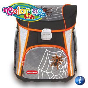 Ghiozdan anatomic Colorino Spider copii ciclul primar