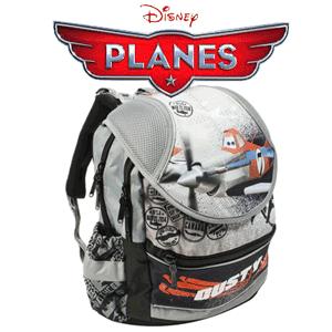 Ghiozdan anatomic pentru baieti Avioane Disney Planes