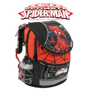Ghiozdan anatomic pentru baieti Spiderman