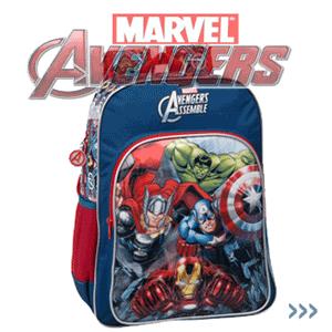 Ghiozdan de scoala cu Eroii Marvel Avengers