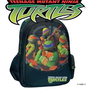 Ghiozdan tip rucsac Testoasele Ninja