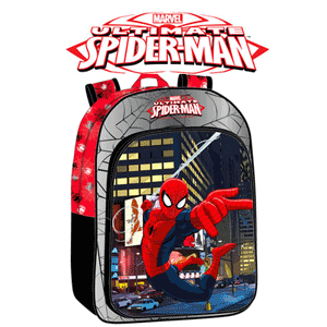 Ghiozdan scoala primara baieti personaj Spider-Man