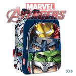 Ghiozdan scolari clase primare Avengers Marvel Team