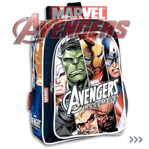 Ghiozdane baieti Colectia Eroii Marvel Avengers