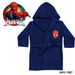 Halate de baie din bumbac gros pentru copii mici si mari Spiderman