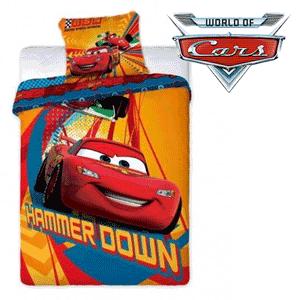 Lenjerie de pat Disney Cars pentru baieti
